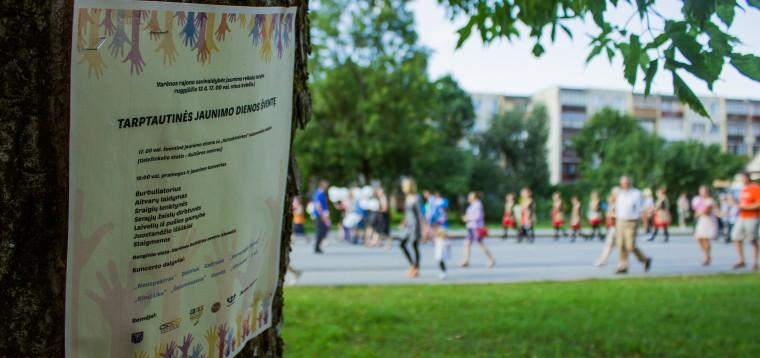 Tarptautinė Jaunimo diena Varėnoje 2014
