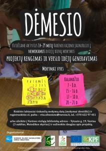 Projekto plakatas