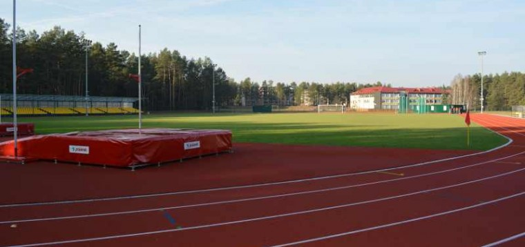 Atidarytas Varėnos miesto stadionas