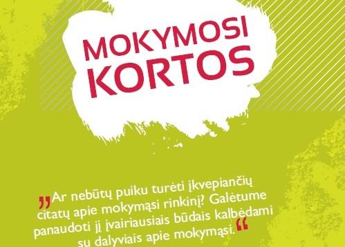"""""""Mokymosi kortos"""" Lietuvių kalba"""