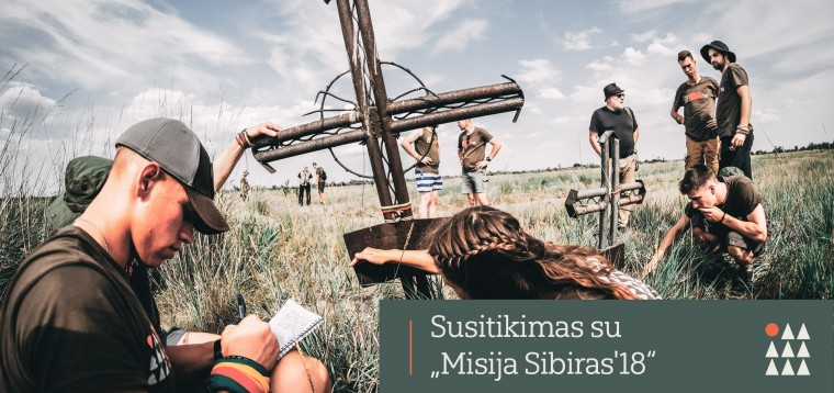 Misija Sibiras'18 pristatymas