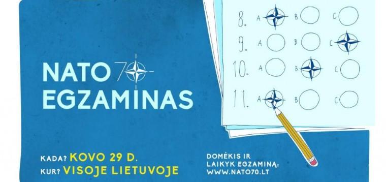 Kviečiame laikyti NATO egzaminą