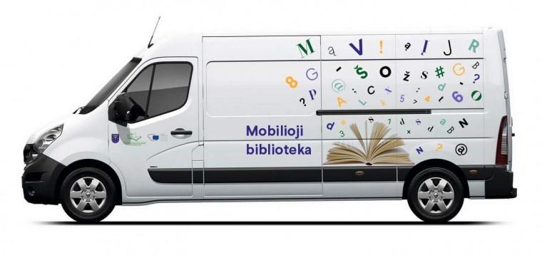 Varėnos rajone riedės moderni mobilioji biblioteka