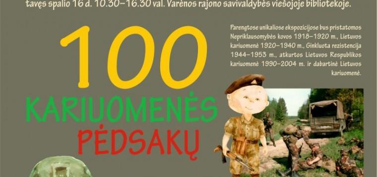 """Muziejus be ribų: """"100 kariuomenės pėdsakų"""" Varėnoje"""