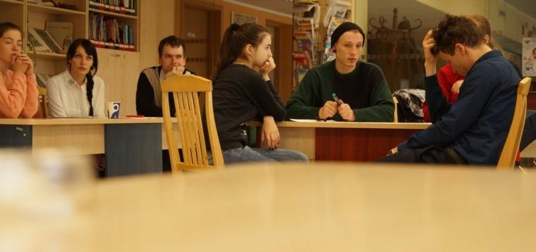 Jaunimo diskusija–mokymai